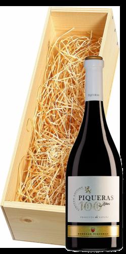 Wijnkist met Bodegas Piqueras Almansa 100 Años