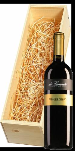 Wijnkist met Di Lenardo Vineyards Vino Rosso Ronco Nole