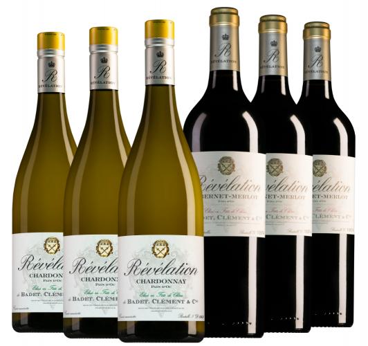 Wijnpakket Revelation (2x3 flessen)