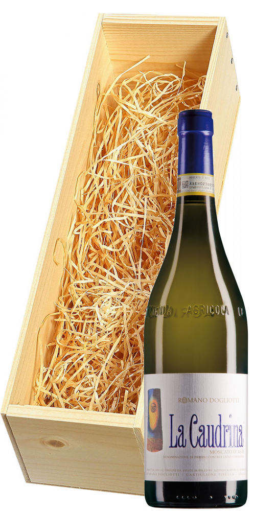 Wijnkist met La Caudrina Moscato d'Asti