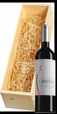 Wijnkist met Domaine de l'Arjolle Cotes de Thongue Equilibre Merlot-Cabernet Sauvignon