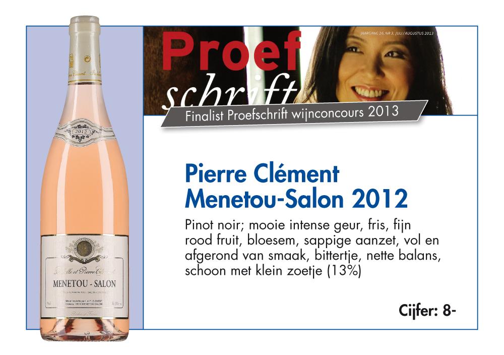 Domaine cl ment wijnhandel beauvin for Menetou salon clement