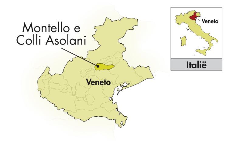 Loredan Gasparini Asolo Prosecco Spumante halve fles