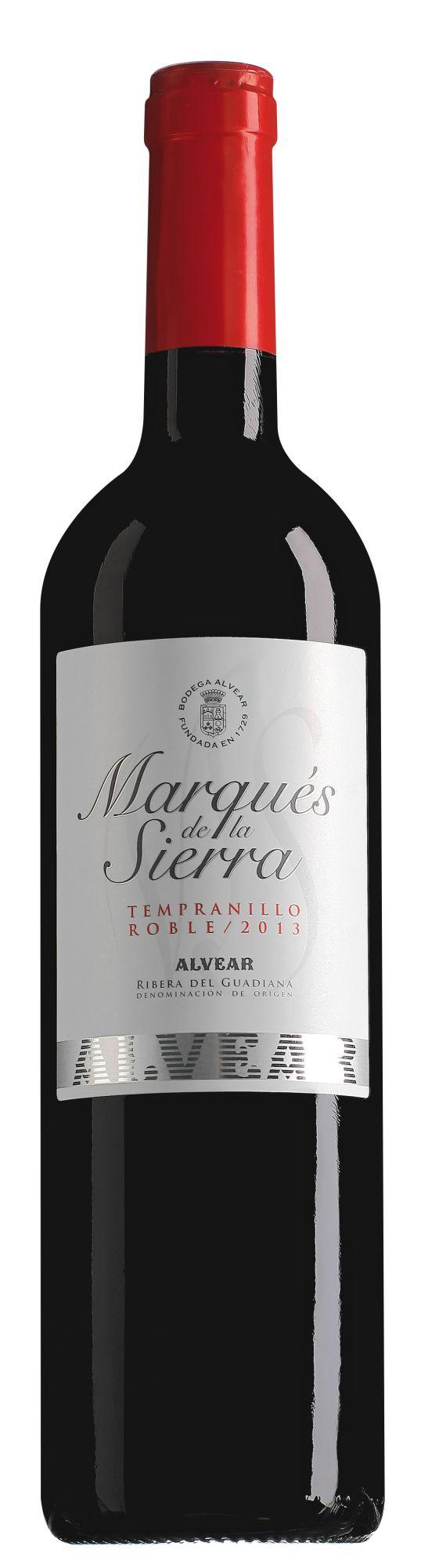 Marqués de la Sierra Ribera del Guadiana Tempranillo