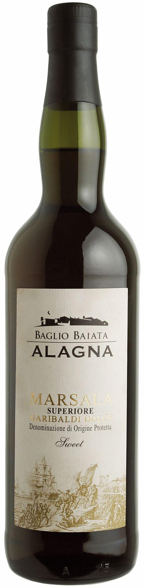 Marsala Superiore Garibaldi Dolce, 2 years old, Baglio Baiata Alagna