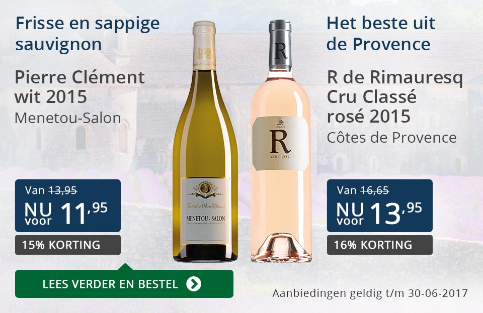 Aanbevolen wijnen juni - blauw