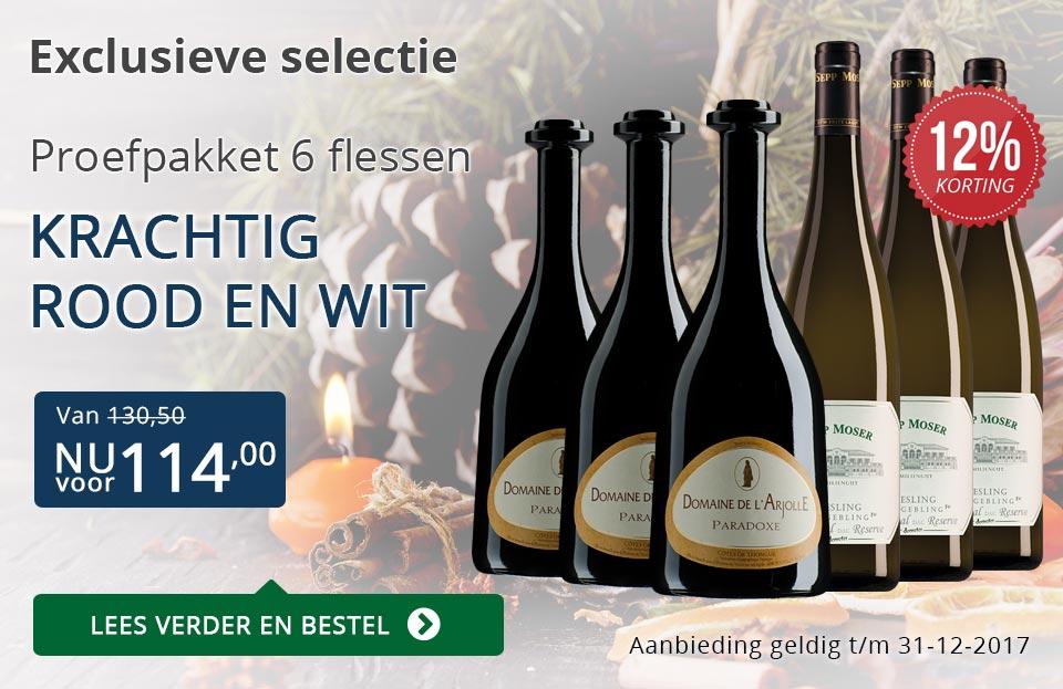 Proefpakket bijzondere wijnen december 2017 (114,00) - blauw