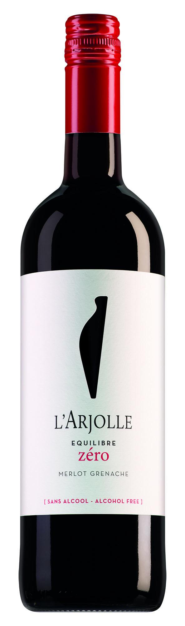 L'Arjolle Côtes de Thongue Equilibre Zéro Merlot-Grenache Rouge alcoholvrij