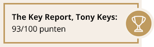 The Key Report, Tony Keys: 93/100 punten