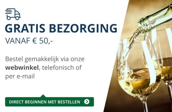Gratis bezorging (50 euro) - blauw